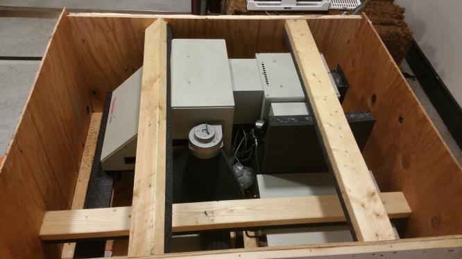 SLS in crate